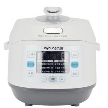 九阳电脑版电压力锅 jyy-50fs5 5l 液晶显示,24小时预约,智能安全眼