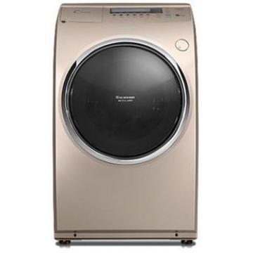 三洋(sanyo)【双十一专享价】dg-l9088bhx 变频洗衣干衣机 香槟金 9kg