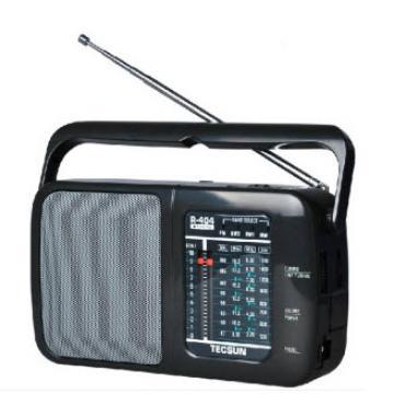 tecsun/德生 r-404全波段便携收音机交直流两用收音机