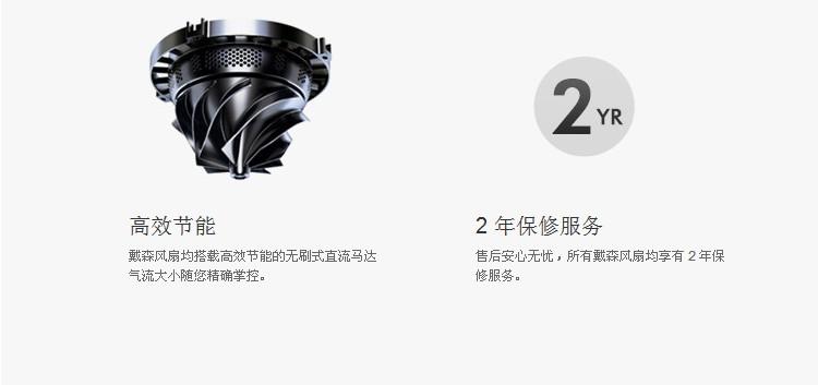 戴森(dyson)am06(25cm) 台式风扇 (无叶风扇) 白银