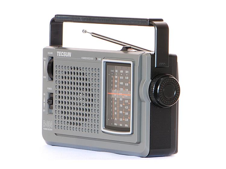 德生(tecsun)r-304 收音机 黑色