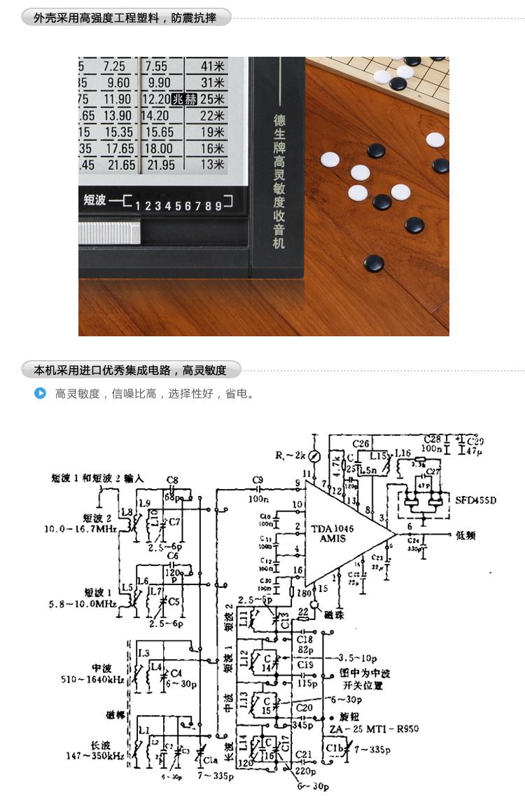 【德生(tecsun)r-911 收音机