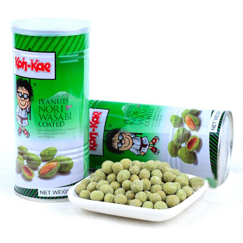 大哥牌 大哥 泰国进口 香脆日本芥末花生豆 230g/罐