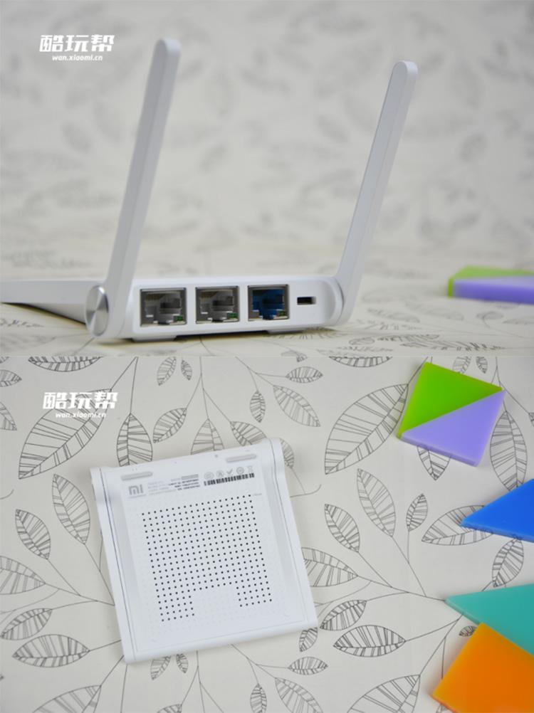 小米(mi)r1cl 300m无线路由器 青春版 白色